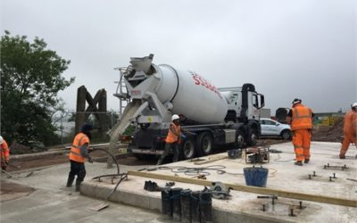 Cemfree Used at Express Concrete's New Plant