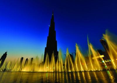 Dubai Fountains, UAE