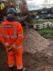Cemfree Concrete with Jackson Civils and Environment Agency