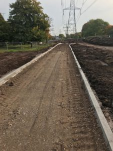 Cemfree concrete being used by Environment Agency