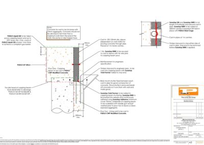 Capping Beam Detail 2