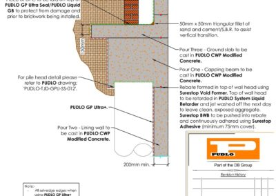 Capping Beam to DPC Interface