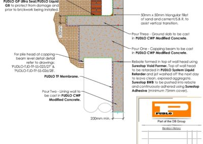 Capping Beam to DPC Interface Detail