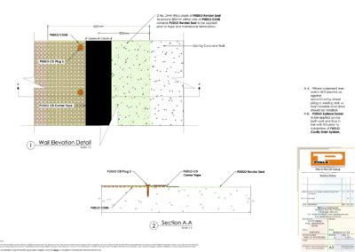 Cavity Drain Wall Termination Detail