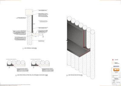 Capping Beam and Liner Wall - Shotcrete