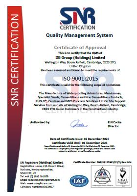 DBG ISO 9001